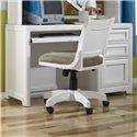 Lea Industries Elite - Reflections Single Pedestal Desk with 3 Drawers and Pullout Keyboard Tray - 876-345