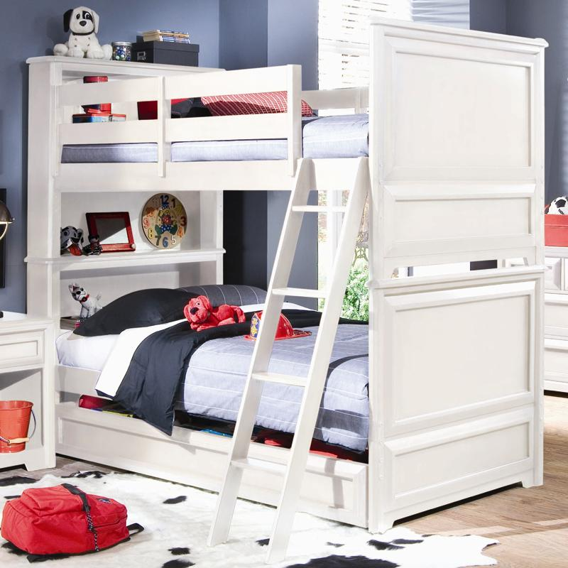 Lea Industries Elite Reflections Twin Over Twin Bunk Bed With Dual