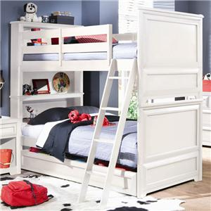 Lea Industries Elite   Reflections Bunk Bed With Trundle