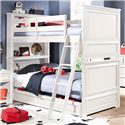 Lea Industries Elite - Reflections Twin Over Twin Bunk Bed with Dual Function Underbed Drawer - 876-976R