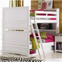 Lea Industries Elite - Reflections Full-Over-Full Bunk Bed with Underbed Storage Unit - 876-986R