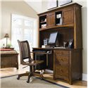 Lea Industries Elite - Crossover Desk & Hutch - 826-345+545