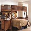 Morris Home Furnishings Fairmont Full Loft Bed  - Item Number: 826-984R