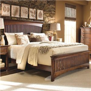 Morris Home Furnishings Fairmont Queen Slat Bed