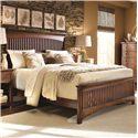 Morris Home Furnishings Fairmont Queen Slat Bed - Item Number: 826-950+951+097