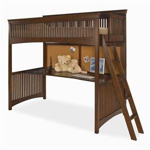 Morris Home Furnishings Fairmont Twin Loft Bed