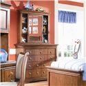 Lea Industries Elite - Classics Bureau Dresser and Bureau Mirror - 816-040+210