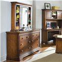 Lea Industries Elite - Classics 7 Drawer Dresser and Bureau Mirror - 816-271+040