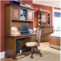 Lea Industries Elite - Classics Computer Desk and Hutch - 816-345+545