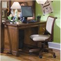 Lea Industries Elite - Classics Single Pedestal Computer Desk - 816-345