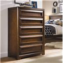 Lea Industries Elite - Expressions 5 Drawer Chest with Removable Divider - 856-151