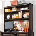 Lea Industries Elite - Expressions Student Desk with Hutch - 856-345+856-545 - Detail of Hutch