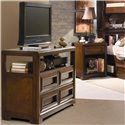 Lea Industries Elite - Expressions Night Stand, Drawer and Shelf - 856-411 - Nightstand Shown with Media Cabinet