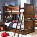 Lea Industries Elite - Expressions Multipurpose Under Bed Storage Compartment - 856-909 - Dual Purpose Under Bed Storage Unit Shown with Bunk Bed