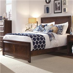 Morris Home Furnishings Roma Queen Panel Bed