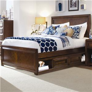 Morris Home Furnishings Roma Full Panel Storage Bed