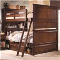 Lea Industries Elite - Expressions Full-Over-Full Bunk Bed with Underbed Drawer Box - 856-986R+910