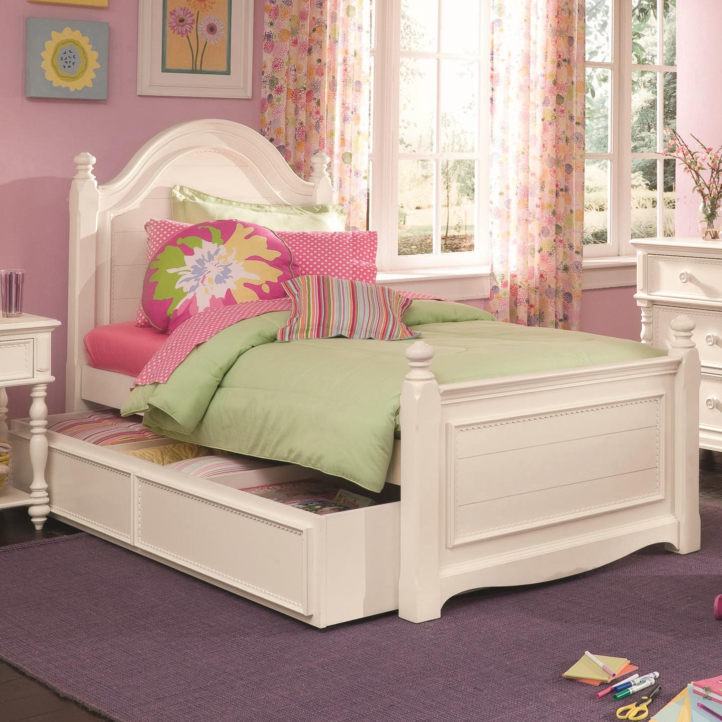 Lea Industries Hannah Full Panel Bed With Understorage   AHFA   Headboard U0026  Footboard Dealer Locator