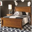 Lea Industries Willow Run Twin Panel Bed with Slat Board Headboard & Footboard - 244-930R - Bed Shown May Not Represent Size Indicated
