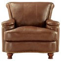 Leather Italia USA Hutton Leather Chair - Item Number: 1669-2493-01T27