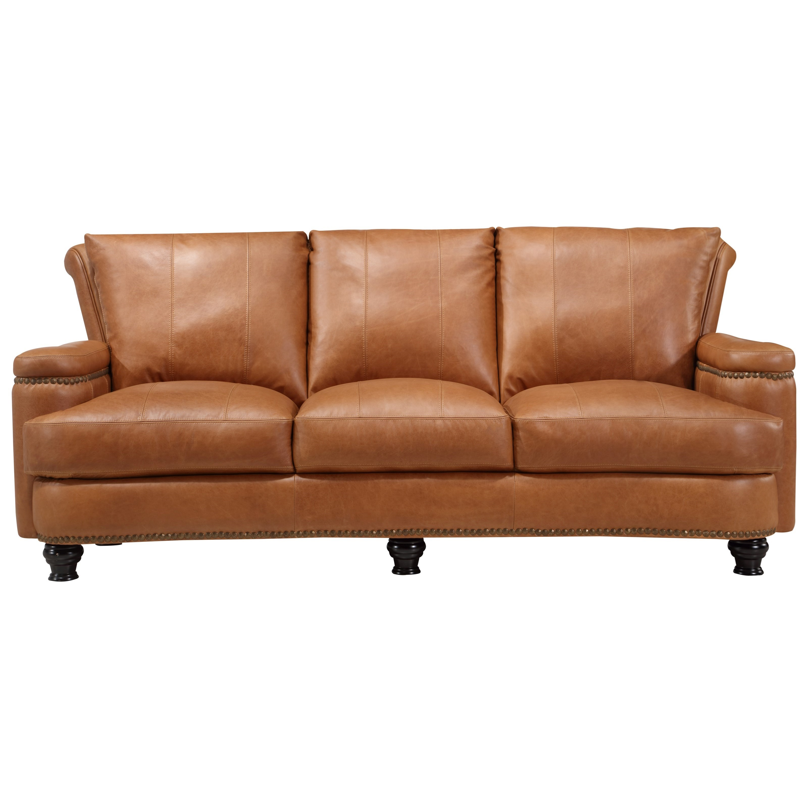 Leather Italia USA Hutton Leather Sofa - Item Number: 2493-sofa