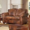 Leather Italia USA Arizona Leather Loveseat - Item Number: 6110-loveseat-04234