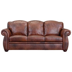 Leather Italia USA (Beaverton Store Only) Arizona Leather Sofa