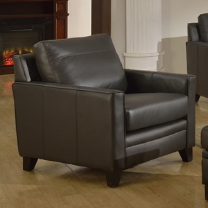 Leather Italia Fletcher Leather Chair