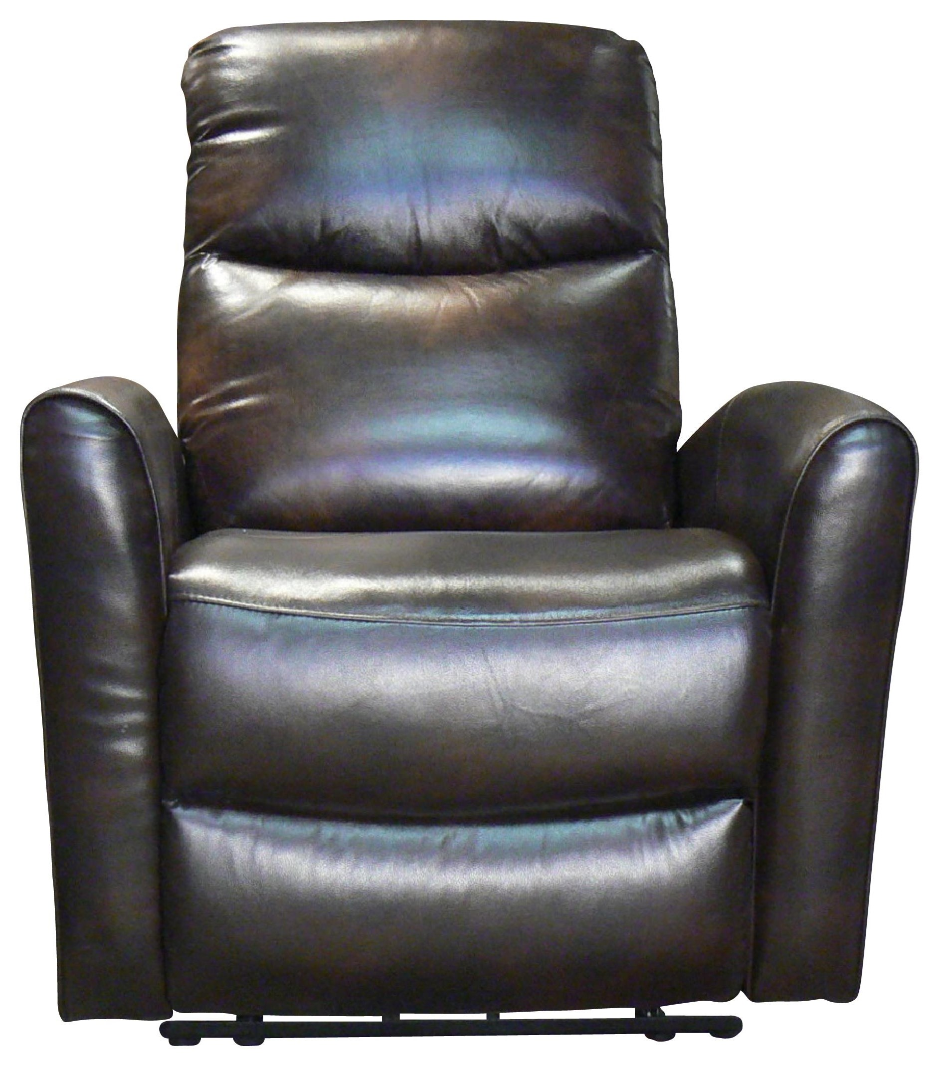 Abby Manual Glider Recliner by Benini Leather at Bennett's Furniture and Mattresses