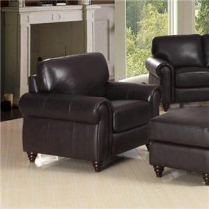 Leather Italia USA Amherst Chair