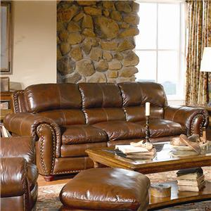 Leather Italia USA Aspen Leather Sofa