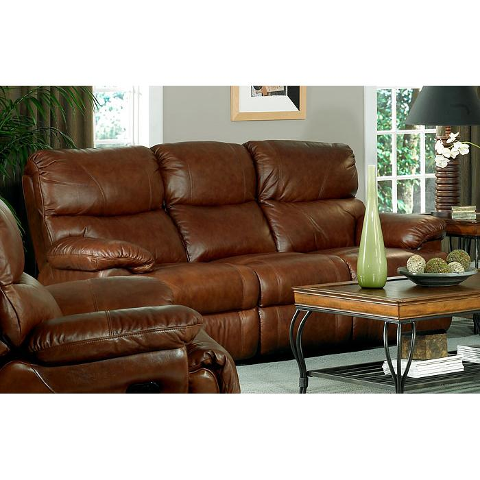Leather Italia USA Baker Power Reclining Sofa - Item Number: 125-36 P
