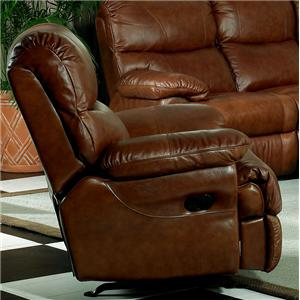 Leather Italia USA Baker Casual Leather Power Recliner