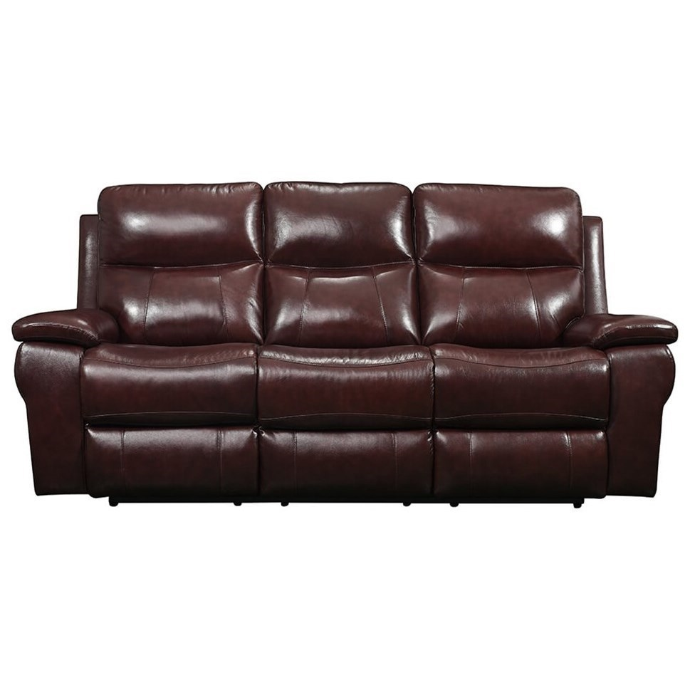 Leather Italia USA Belmont Power Reclining Sofa with Power ...