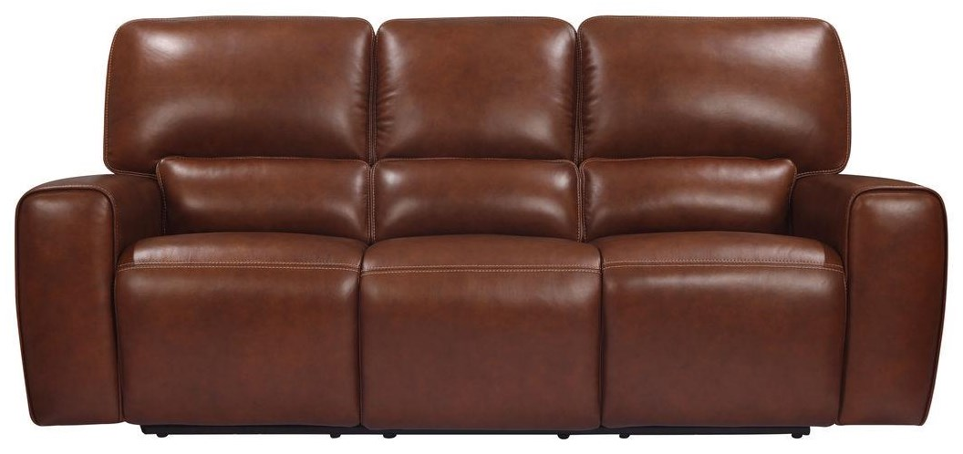 Broadway POWER RECLINING AND POWER HEADREST by Leather Italia USA at Johnny Janosik