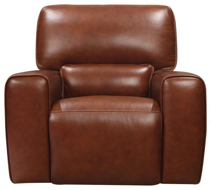 Broadway Power Glider Rocker by Leather Italia USA at Johnny Janosik