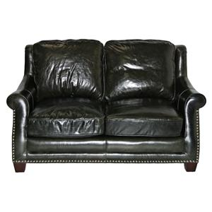 Leather Italia USA Buchanan Loveseat