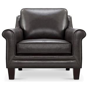 Leather Italia USA Cambria - Andover Leather Chair