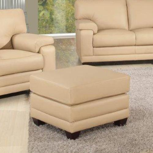 Leather Italia USA Carlisle Ottoman - Item Number: 9532-006397
