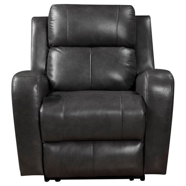 Cortana  Leather Power Recliner by Leather Italia USA at Darvin Furniture