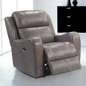 Leather Italia USA Cortana  Leather Recliner (with Power)