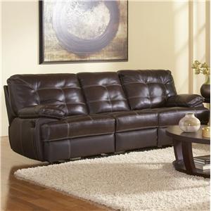 Leather Italia USA Dalton Reclining Sofa