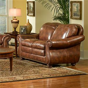 Leather Italia USA Duplin Loveseat