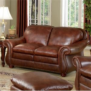 Leather Italia USA Dutton Loveseat