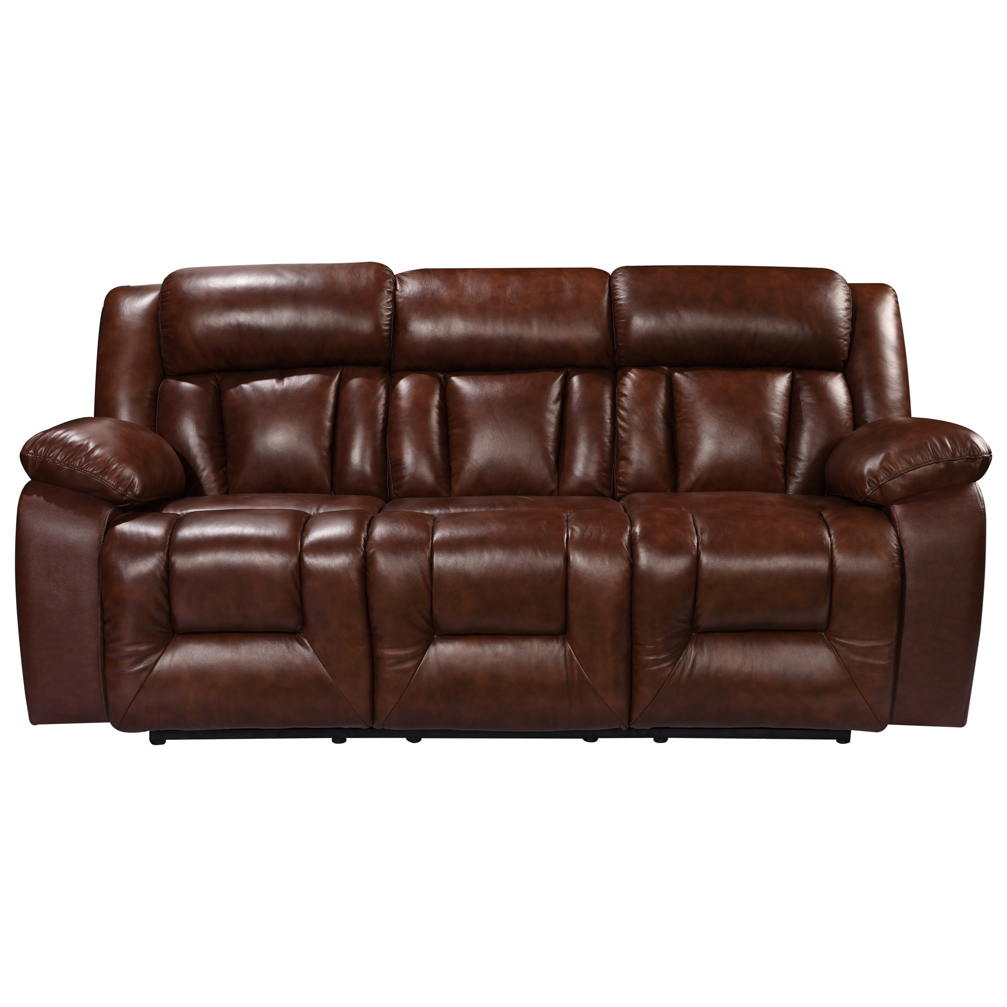 Leather Italia USA Emmett Casual Power Reclining Sofa with Power ...