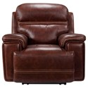 Leather Italia USA Fresno Power Recliner - Item Number: 1555-EH2394-011004LV