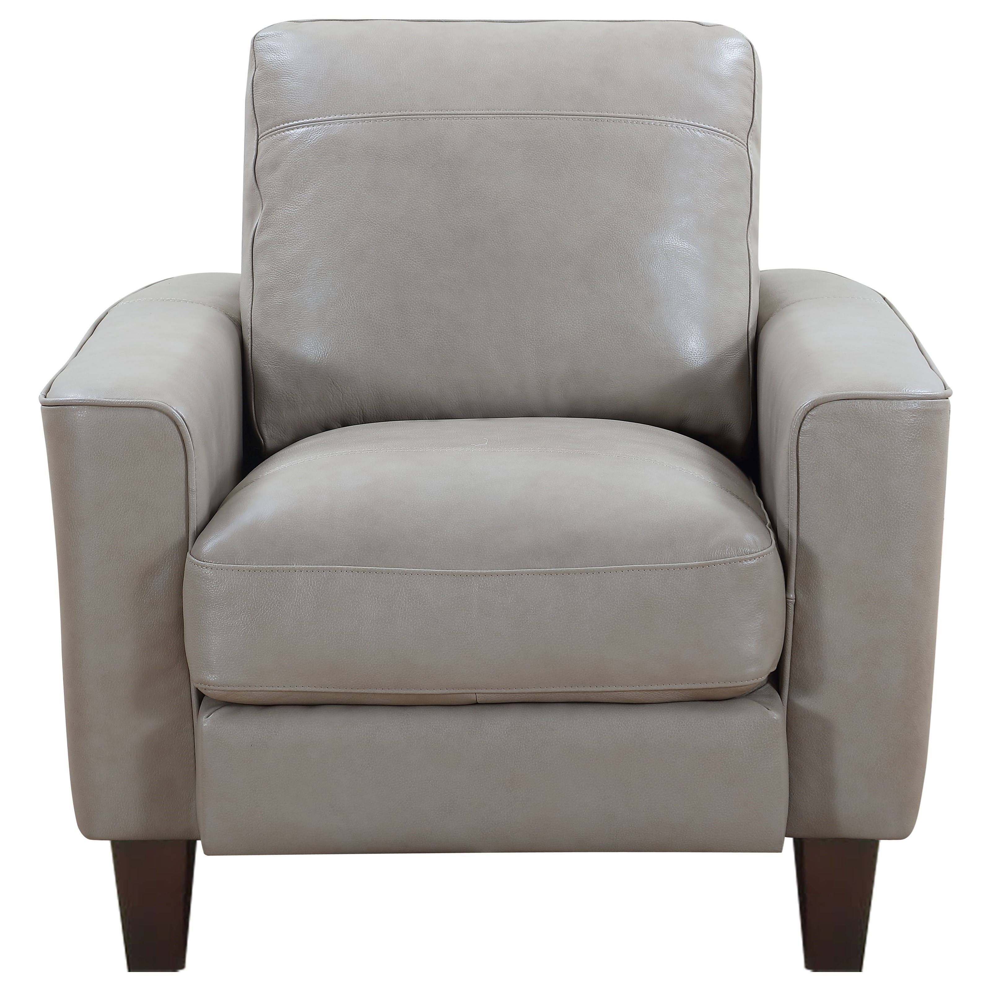Georgetown - Chino Chair by Leather Italia USA at Johnny Janosik