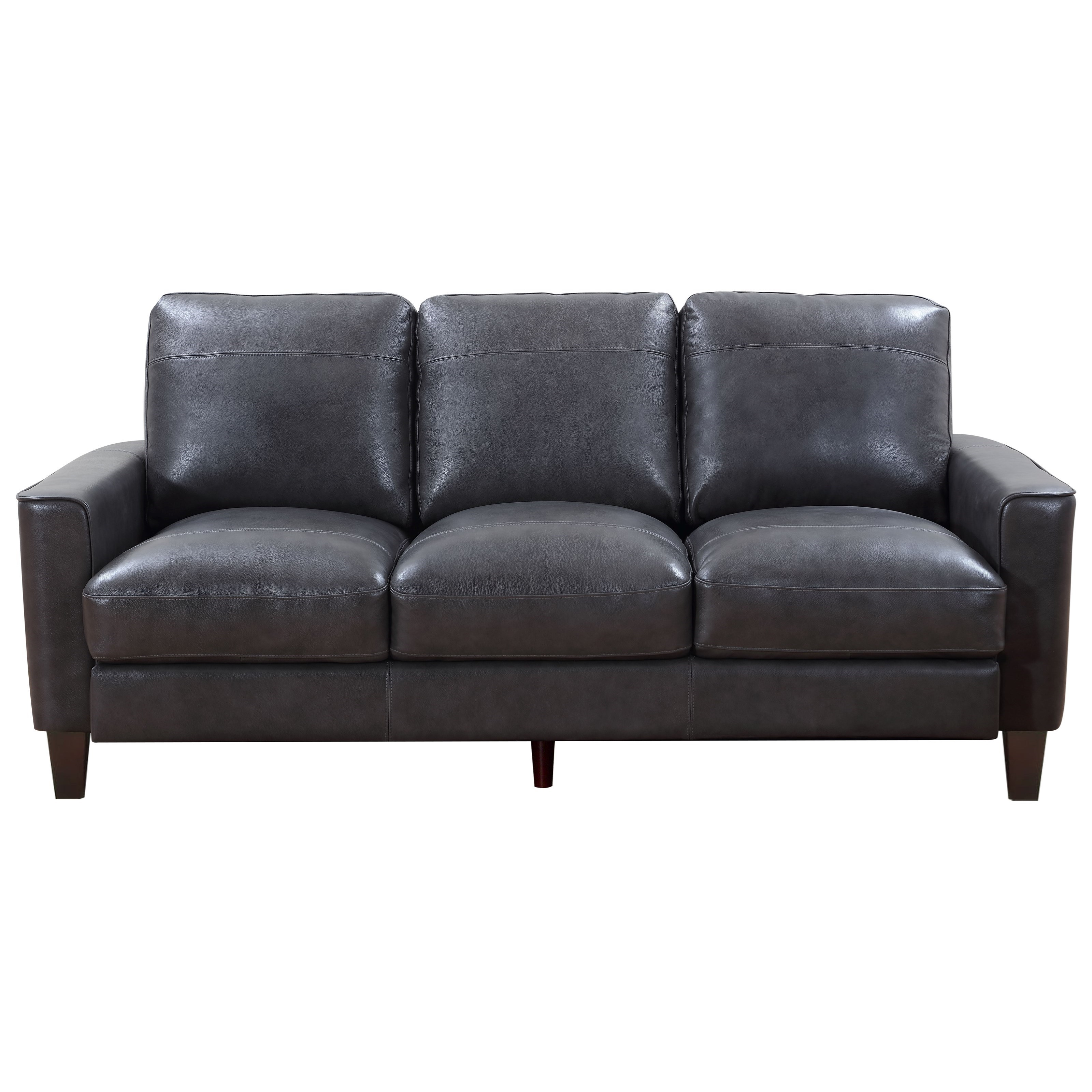 Georgetown - Chino Sofa by Leather Italia USA at Johnny Janosik