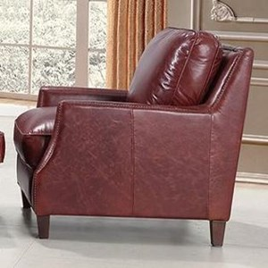 Leather Italia USA Georgetowne - Oakridge Leather Chair