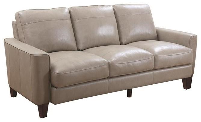 """82"""" Leather Sofa"""